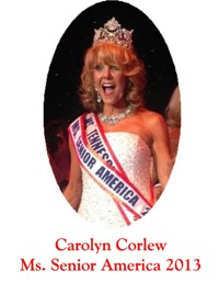 2013 Ms Senior America Queen